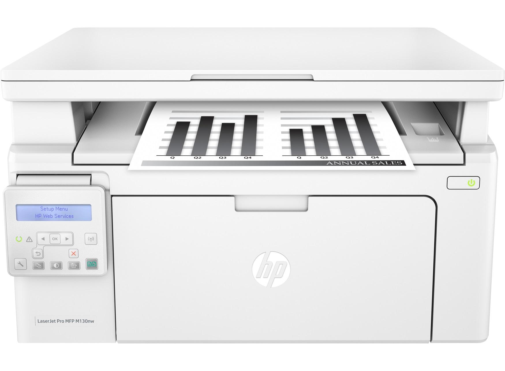 Принтер HP Laserjet Pro MFP M130NW VNFNC09364 - 3