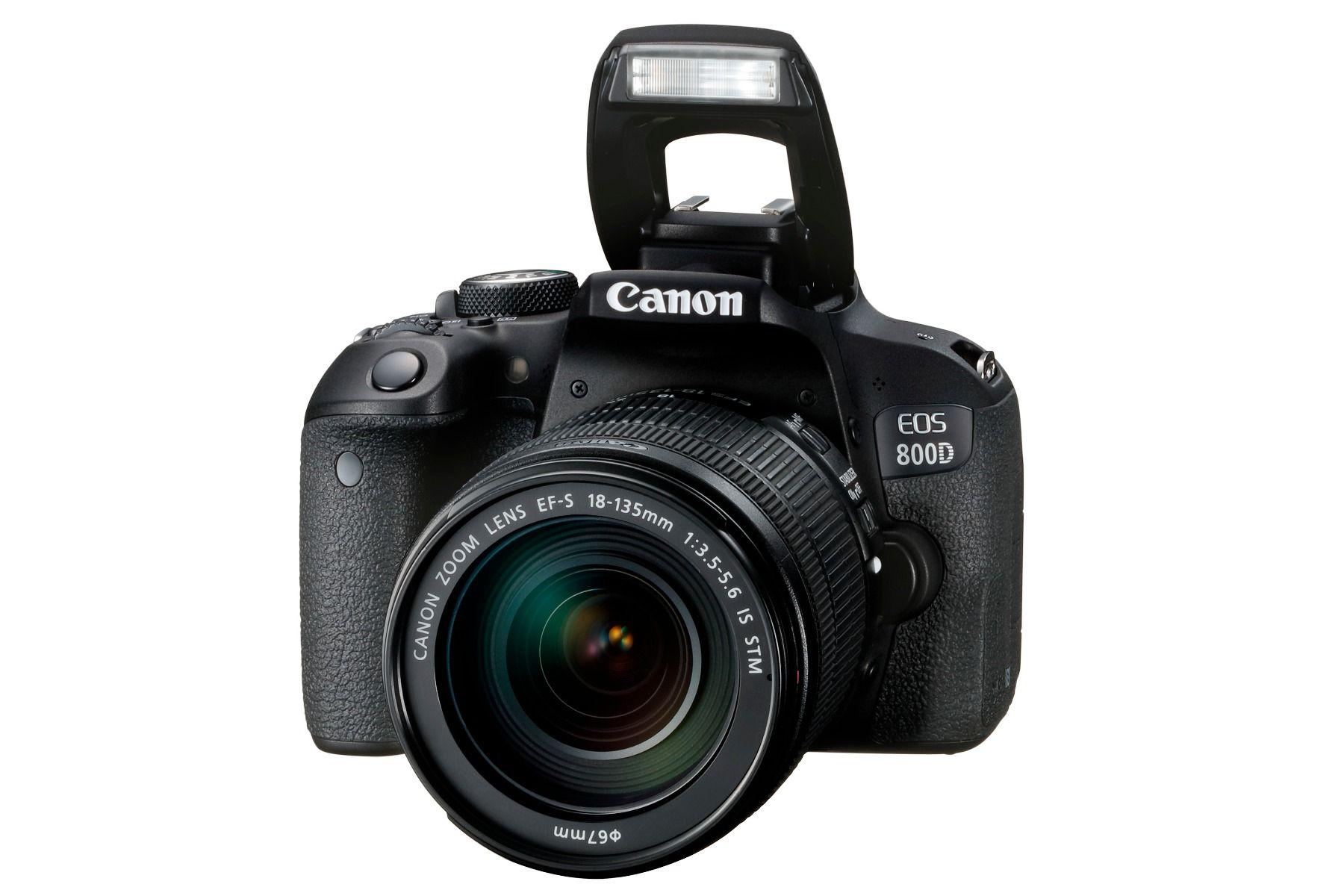 Fotoaparat Canon EOS 800D EF-S 18-135 IS STM Kit 305071023708 - 2