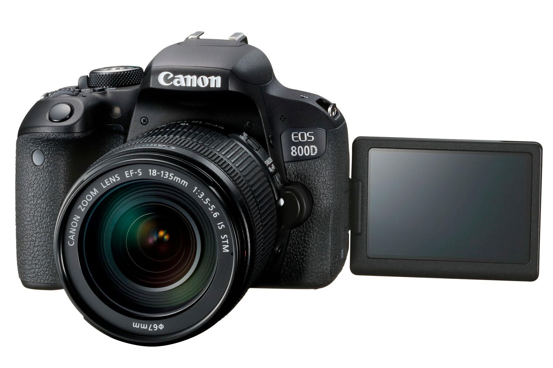 Fotoaparat Canon EOS 800D EF-S 18-135 IS STM Kit 305071023708 - 3