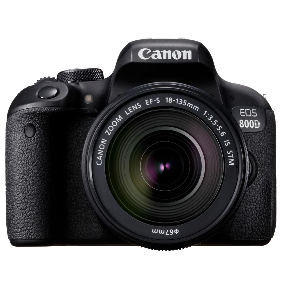 Fotoaparat Canon EOS 800D EF-S 18-135 IS STM Kit 305071023707