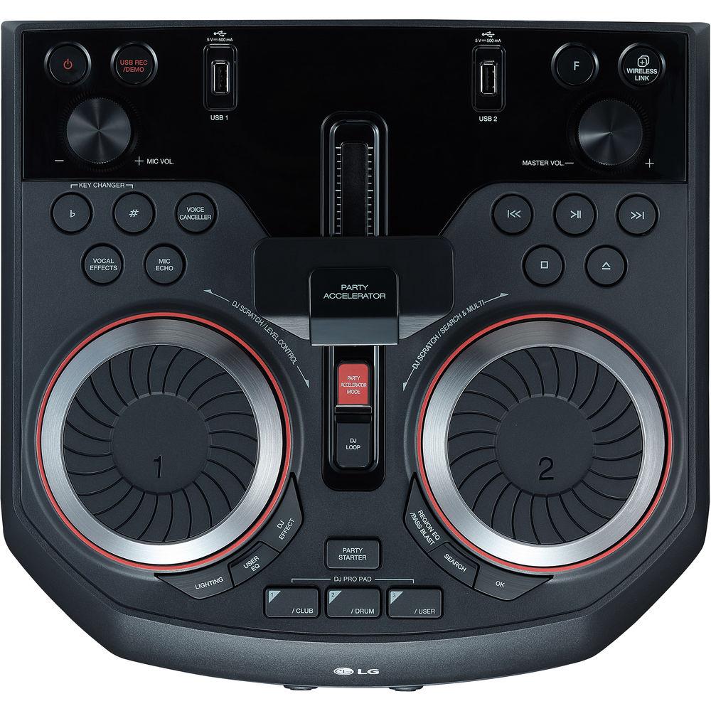 Музыкальный центр LG OK75 XBOOM 1000W Entertainment Karaoke 903HZQC012764 - 5