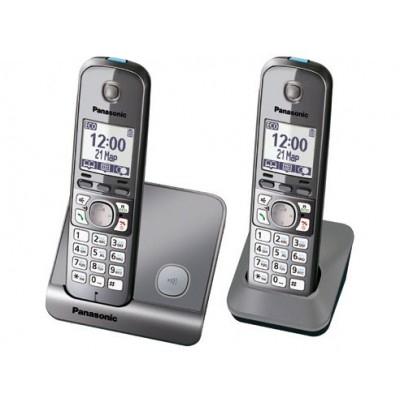 DECT PANASONIC KX-TG6712UAB 52KAQB001393 - 2