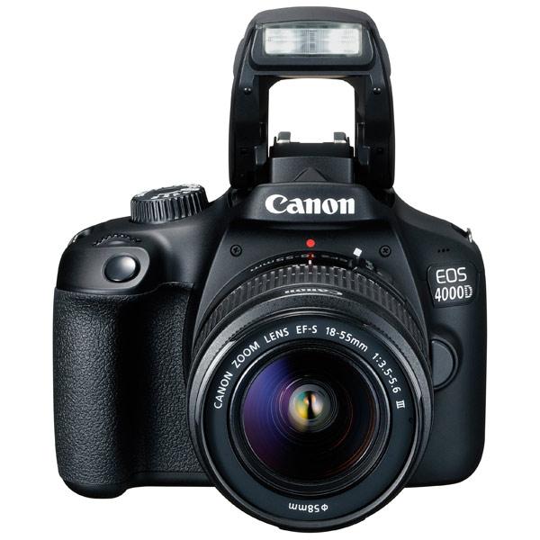 Fotoaparat Canon EOS 4000D Kit 18-55 21253071015936 - 2