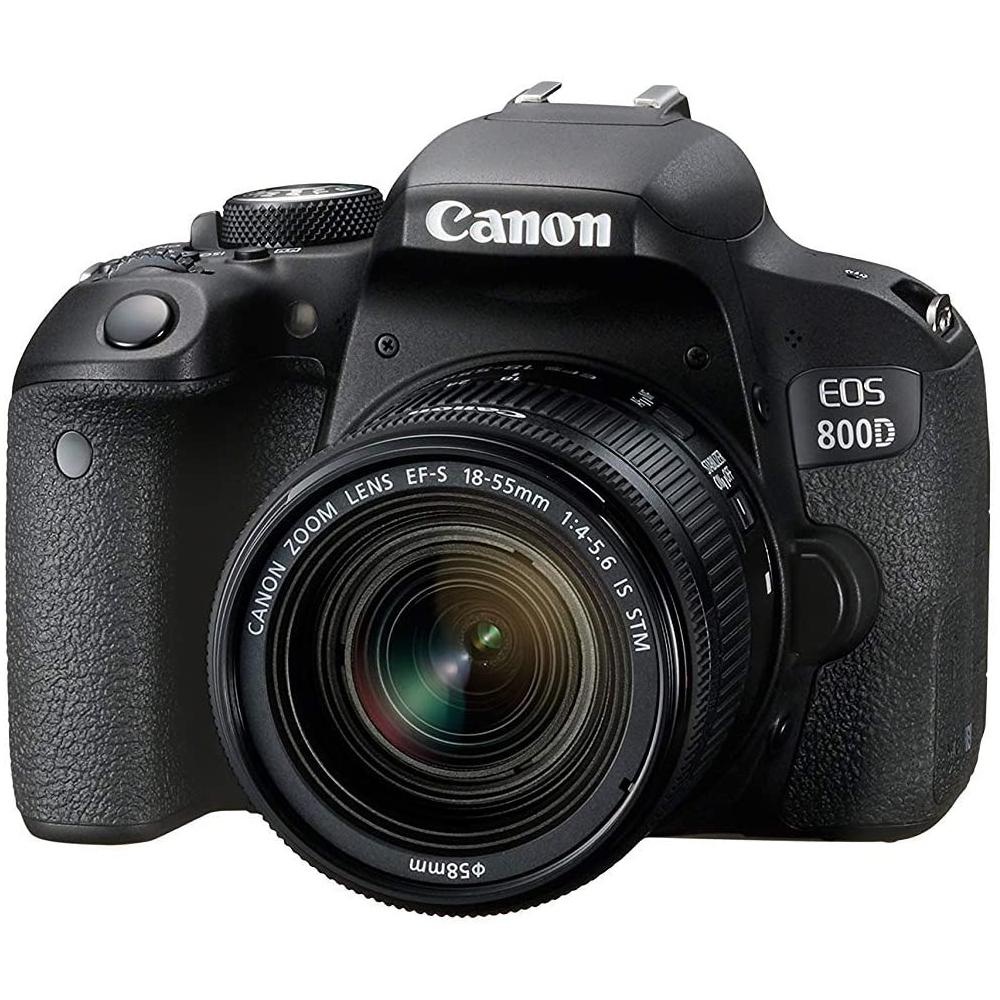 Fotoaparat CANON EOS 800D EF-S 18-55 IS STM Kit 313071009368