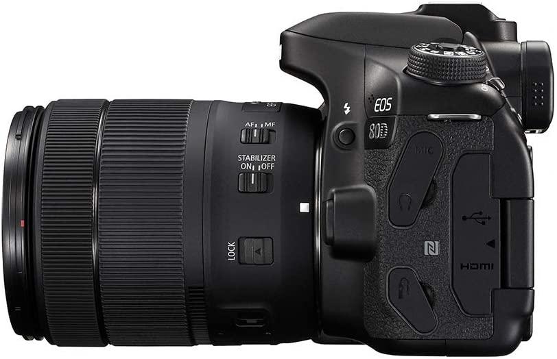 Fotoaparat CANON EOS 80D 18-135 461026000662 - 4
