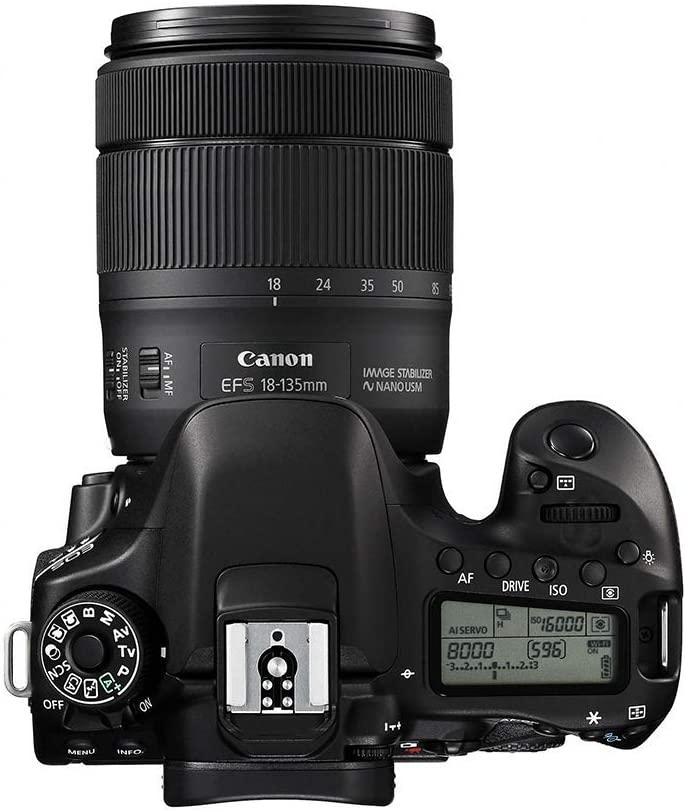 Fotoaparat CANON EOS 80D 18-135 461026000662 - 5