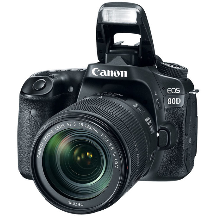 Fotoaparat CANON EOS 80D 18-135 461026000662 - 1