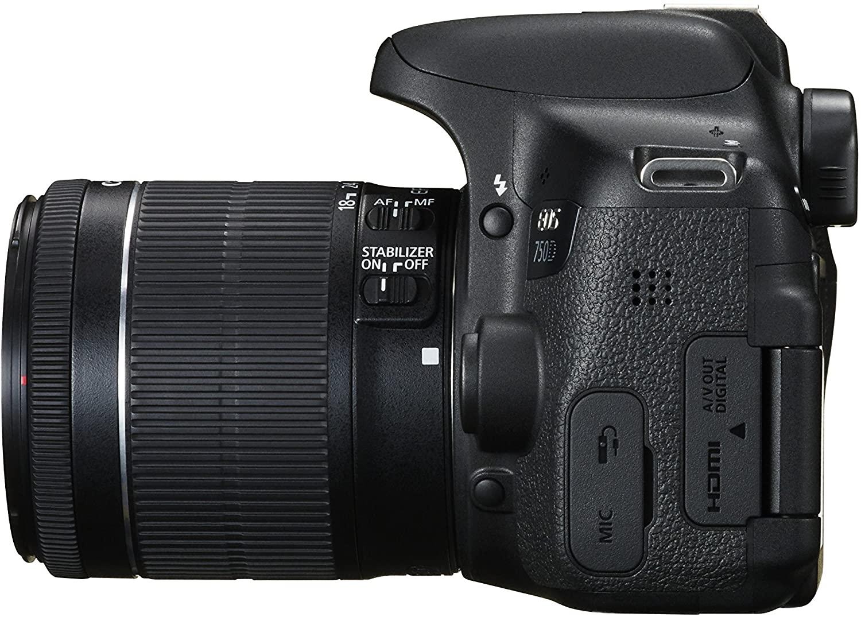 Фотоаппарат Canon EOS 750D Kit 18-55 363072008757 - 5