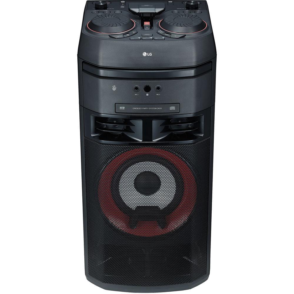 Музыкальный центр LG OK55 XBOOM 500W Entertainment Karaoke 002HZQC014508 - 2