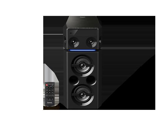 Musiqi mərkəzi Panasonic Wireless Speaker SC-UA30GS-K %MR9DC001152
